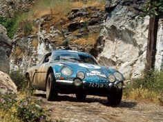 Alpine A110 rally car