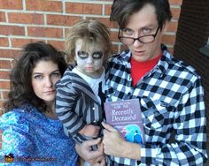 Beetlejuice Toddler - Halloween Costume Contest via @costume_works