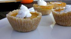 Mini No-Bake Pumpkin Pies  with Coconut Crust (AIP)