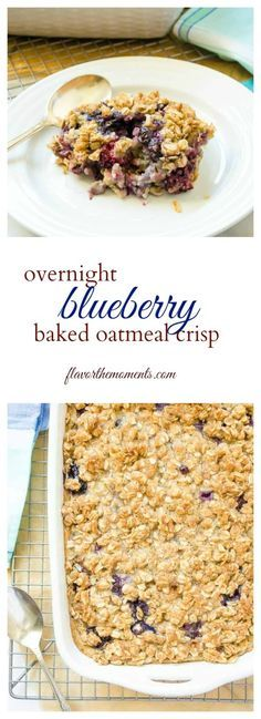 overnight-blueberry-baked-oatmeal-crisp-collage | flavorthemoments.com