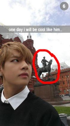 V has snapchat ?? Omo !! What his naaame ?? Plzzzzzz