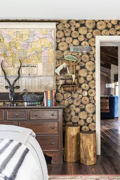 You get the true rustic Montana experience when you stay at this home.