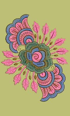 Patch Embroidery Design 10964