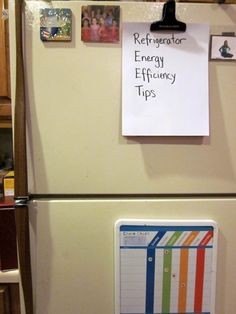 Energy Efficiency Tips for Your Refrigerator - SC Johnson's Green Choices blog.