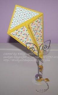 Kite Cards - Always Stampin' with Kelly Gettelfinger: @alwaysstampin.blogspot.com