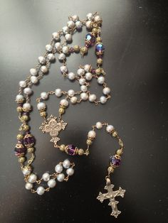 My friend Julie is designing these gorgeous Rosary Beads. Such a great gift for Mother's Day or Confirmation. JGK Designs. Email me for info.