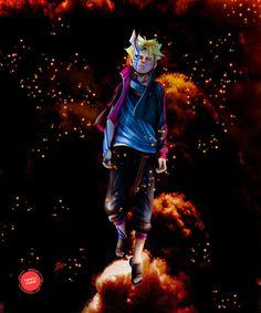 Boruto Awakening by YametaStudio on DeviantArt Naruto Shippuden Sasuke, Anime Naruto, Minato E Naruto, Boruto And Sarada, Wallpaper Naruto Shippuden, Naruto Wallpaper, Otaku Anime, Anime Manga, Wallpapers Naruto
