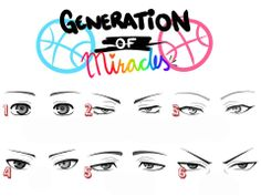 Eye references for the Generation of Miracles! Wanna see how I drew Kuroko's eyes? Check this out: [link] Please don't copy/paste the eyes to any of you. KUROKO NO BASKET EYE CHART Kuroko No Basket, Basket Drawing, Midorima Shintarou, Kiseki No Sedai, Manga Drawing Tutorials, Generation Of Miracles, Eye Chart, Kuroko Tetsuya, Kuroko's Basketball