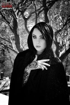 Megan Massacre / Abandoned Cemetery Shoot