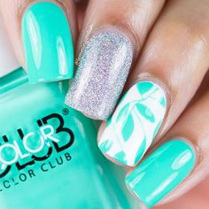 Turquoise max and match nails
