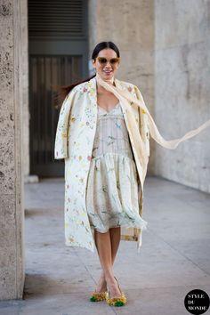 Paris Fashion Week FW 2015 Street Style: Tina Leung