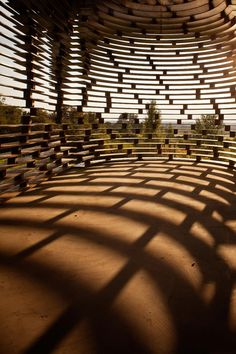 semi-transparent church: Reading Between the Lines by Gijs Van Vaerenbergh for Z-OUT project of Z33 (Borgloon, Belgium)