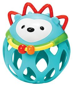 Skip Hop Explore and More Roll Around Rattle Toy Hedgehog >>> Learn more by visiting the image link.Note:It is affiliate link to Amazon.