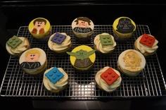 Lego Star Wars Cupcakes  Cake by Brandi