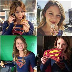 #MelissaBenoist #Supergirl