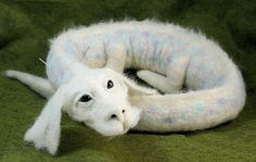 Falcor - commissioned needle felted chinese style dragon by bjmaiee, via Flickr