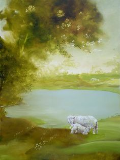A very peaceful painting.