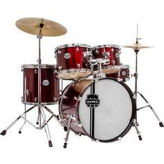 Mapex Voyager Jazz 5-Piece Drum Shell Pack - Dark Red