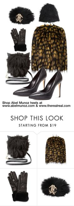 """""""www.therealreal.com"""" by abelmunozaccessories ❤ liked on Polyvore featuring Charlotte Russe, Dries Van Noten, Black Orchid, Mario Portolano, Roberto Cavalli and Marni"""