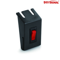 The BR100 from 911 Signal is a compact button switch box that can splice according to your requirement, At an extremely affordable price, you can use this black switch box to easily manage your emergency vehicle's emergency vehicle lighting.