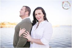 Loved photographing this adorable couple on the Manteo waterfront!