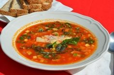 Italian vegetable soup Minestrone