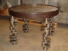 Vintage Metal Table Industrial Steam Punk Retro Alternative Man Cave. Steampunk  FurnitureMetal TablesVintage MetalSteam ...