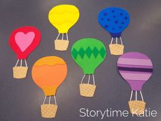 Game to roll dice and race to top of board!! Flannel Friday: The Great Hot Air Balloon Race – storytime katie