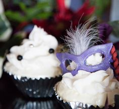 cupcakes The Frosted Petticoat: Trend Alert: Masquerade!