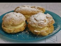 Ptysie domowe chrupiące sprawdzony przepis Dessert Drinks, Hamburger, Muffin, Bread, Cookies, Breakfast, Youtube, Food, Raspberries