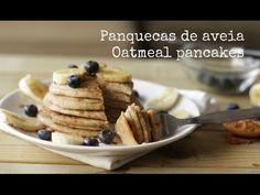 Panquecas vegan de aveia | Vegan Oatmeal pancakes