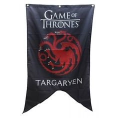 Hang the Sigil that supports the quickly expanding reign of Daenerys Targaryen! Proudly display your allegiance to everyone's favorite Queen and Mother of Dragons.