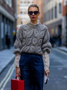 Knit and lace