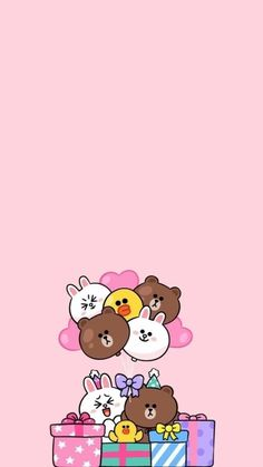 Cute simple wallpapers cute wallpaper backgrounds pink wallpaper iphone brown wallpaper line Lines Wallpaper, Brown Wallpaper, Pink Wallpaper Iphone, Bear Wallpaper, Cute Wallpaper Backgrounds, Simple Backgrounds, Cute Simple Wallpapers, Cute Cartoon Wallpapers, Cony Brown