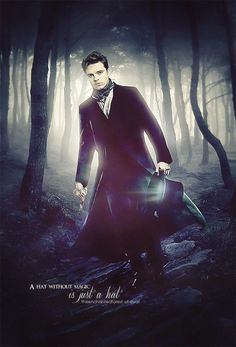 Sebastian Stan as my FAVE Alice in Wonderland character - The Mad Hatter