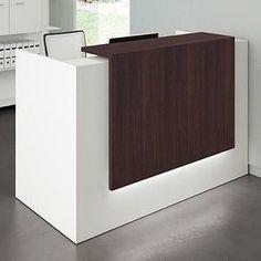 Office Furniture, Office Desk, Front Office, Waiting Area, Modern Shop, Wood Shelves, Storage, Outdoor Decor, Etsy