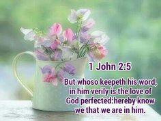 1 John 2:5 KJV
