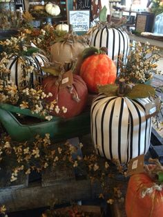 It's Fall time at The Faded Farmhouse!