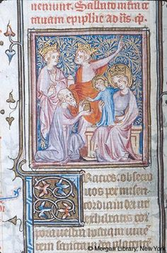 Breviary, MS M.75 fol. 133v - Images from Medieval and Renaissance Manuscripts - The Morgan Library & Museum