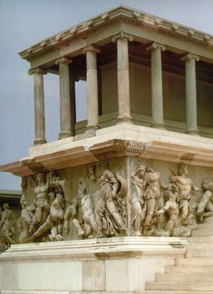 Altar of Zeus, Pergamon, Turkey. C. 175 bc
