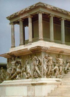 Altar of Zeus, Pergamon, Turkey. C. 175 bc