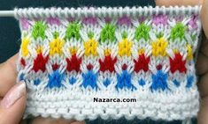Very Easy Knitting Design. Easy 4 Row Multicolor Knit Pattern for Baby Apparel / Ladies Cardigan / Coats. – The best ideas Baby Knitting Patterns, Knitting Designs, Embroidery Patterns, Crochet Patterns, Knitting Videos, Easy Knitting, Loom Knitting, Knitting Stitches, Knifty Knitter