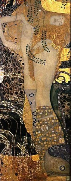 Gustav Klimt, Water Serpents, 1907
