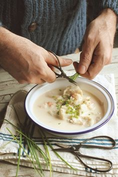 happycome:  (via select: culinary photography / chowder)
