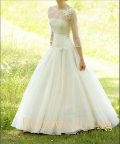 Hey, I found this really awesome Etsy listing at http://www.etsy.com/listing/157934969/simple-princess-outdoor-wedding-dress