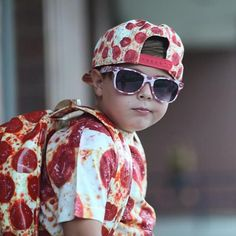 Somebody's ready for Friday! #pizza