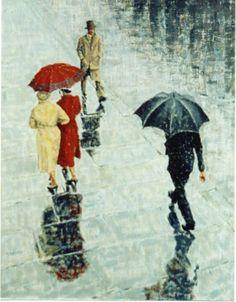 Man with No Umbrella Rain. Umbrella Art, Under My Umbrella, Walking In The Rain, Singing In The Rain, I Love Rain, Rain Days, Going To Rain, Rainy Night, Umbrellas Parasols