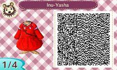 Inu-Yasha's robe | QRCrossing.com