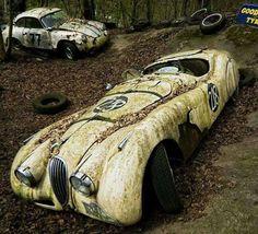 "Jaguar XK120 OTS ""Barn Find"""