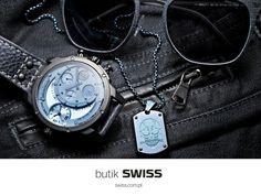 Zimowa kolekcja zegarków marki Police dostępna już w butikach SWISS. Zapraszamy!
